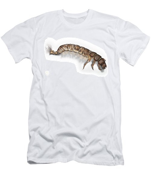 Caddisfly Larva Nymph Psychomiidae Hydropsyche Pellucidula -  Men's T-Shirt (Athletic Fit)