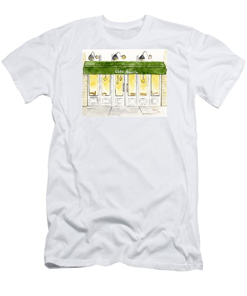 Cafe' Amrita  Men's T-Shirt (Athletic Fit)