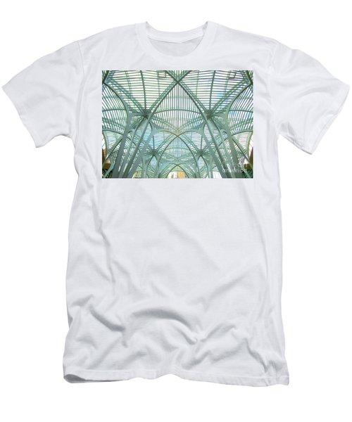 Calatrava In Toronto 10 Men's T-Shirt (Slim Fit) by Randall Weidner