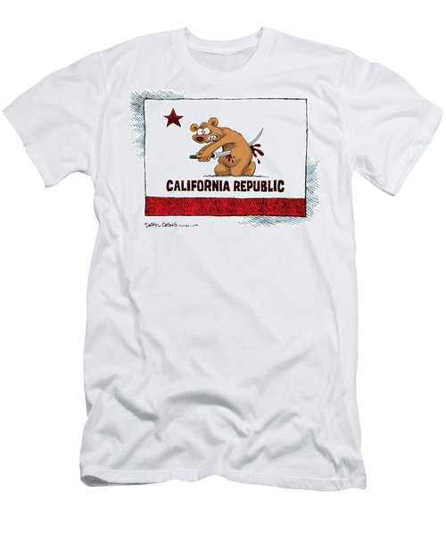 California Budget Harakiri Men's T-Shirt (Athletic Fit)