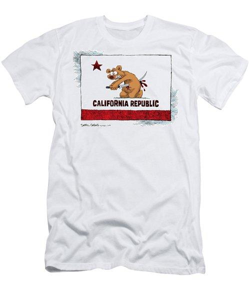 California Budget Harakiri Men's T-Shirt (Athletic Fit)