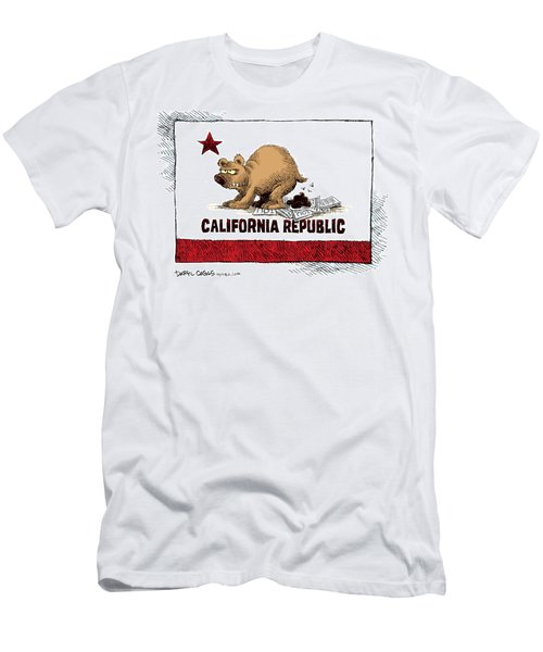 California Budget Iou Men's T-Shirt (Athletic Fit)