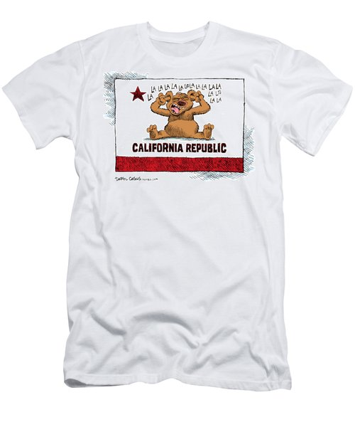 California Budget La La La Men's T-Shirt (Athletic Fit)
