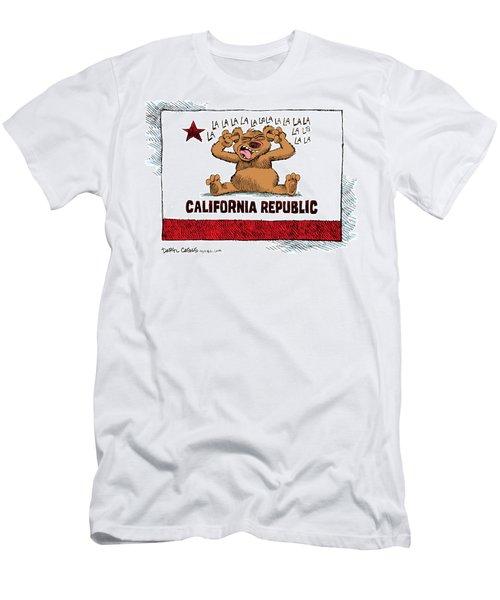 California Budget La La La Men's T-Shirt (Athletic Fit)