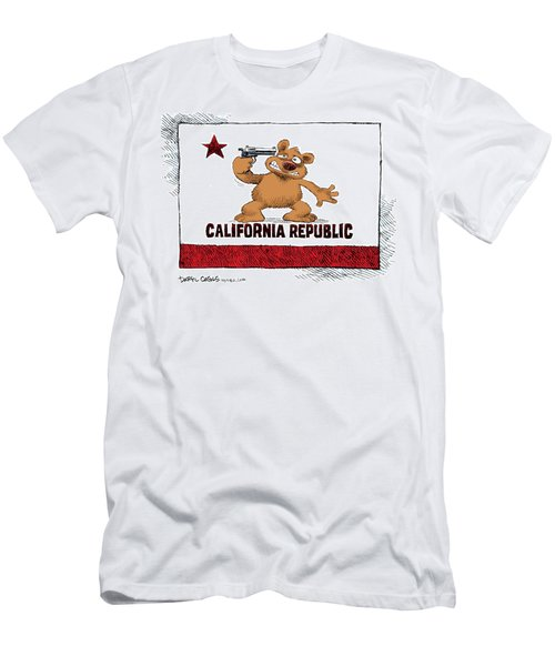 California Budget Suicide Men's T-Shirt (Athletic Fit)
