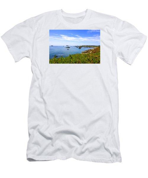 California Coastal Summer Men's T-Shirt (Athletic Fit)