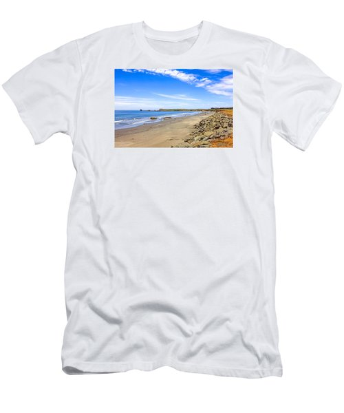 California Coastline Men's T-Shirt (Slim Fit) by Chris Smith
