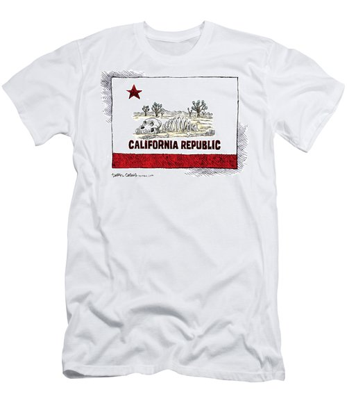 California Drought Men's T-Shirt (Athletic Fit)