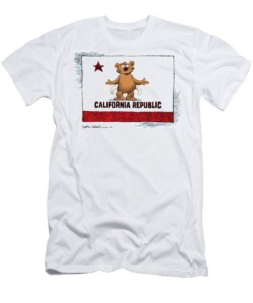 California Empty Pockets Men's T-Shirt (Athletic Fit)