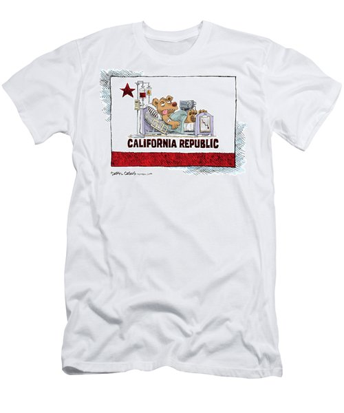 California Is Sick Men's T-Shirt (Athletic Fit)