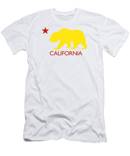 California Men's T-Shirt (Slim Fit) by Jim Pavelle