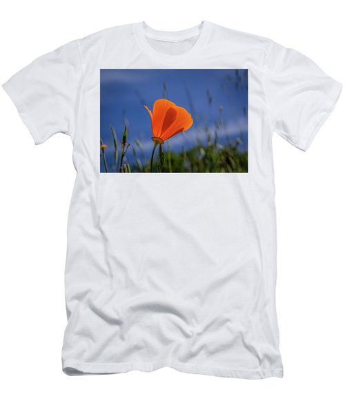 California Poppy Men's T-Shirt (Slim Fit) by Marc Crumpler