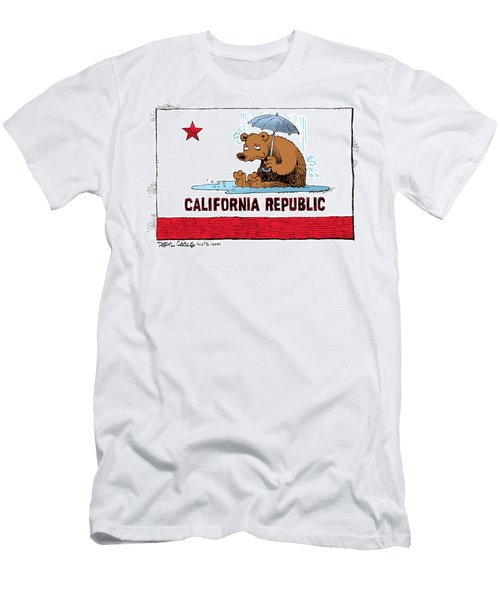 California Rain Men's T-Shirt (Athletic Fit)