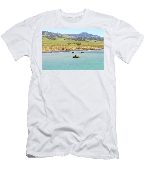 Men's T-Shirt (Slim Fit) featuring the photograph California's Central Coast by Art Block Collections