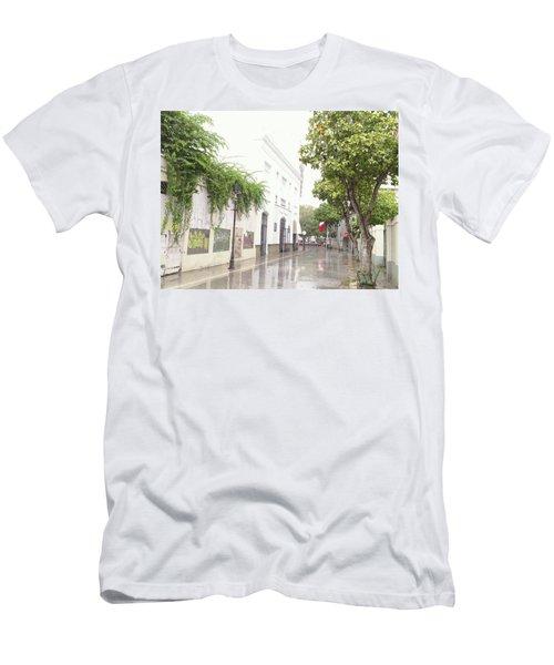 Callejon Amor, Ponce, Puerto Rico Men's T-Shirt (Athletic Fit)