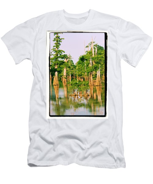 Calm Bayou Men's T-Shirt (Athletic Fit)