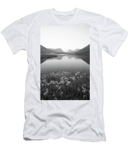 Men's T-Shirt (Slim Fit) featuring the photograph Calm Morning  by Dustin LeFevre
