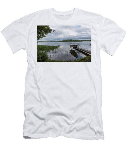 Camelot Island From Wilderness Point Men's T-Shirt (Athletic Fit)