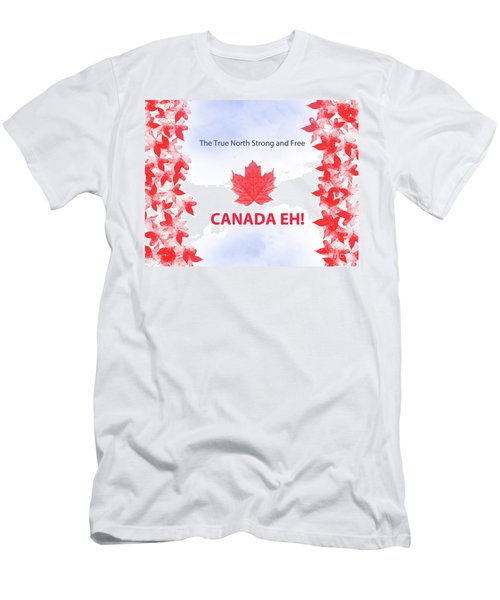 Canada Day 2016 Men's T-Shirt (Athletic Fit)