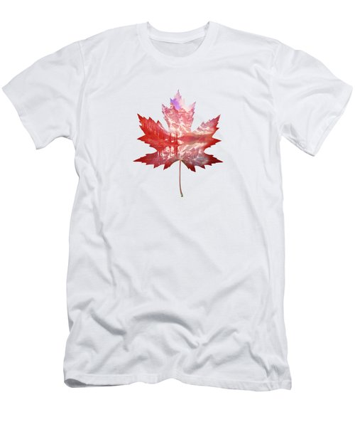 Canada Maple Leaf Men's T-Shirt (Athletic Fit)