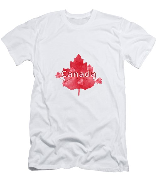 Canada Proud Men's T-Shirt (Athletic Fit)