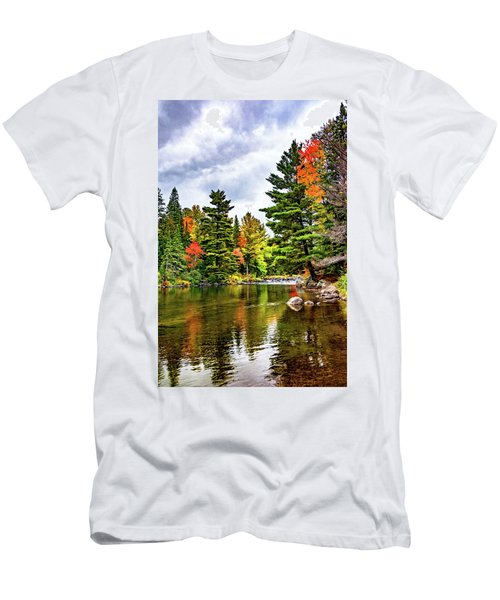 Canadian Wilderness 3 Men's T-Shirt (Athletic Fit)