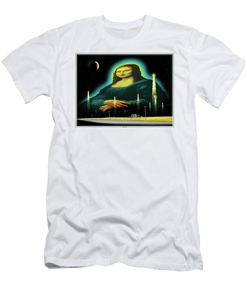 Candles For Mona Men's T-Shirt (Slim Fit) by Scott Ross