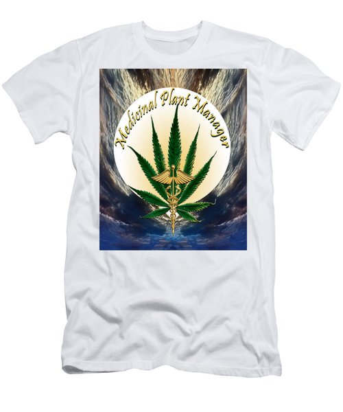 Cannabis Medicinal Plant Men's T-Shirt (Athletic Fit)