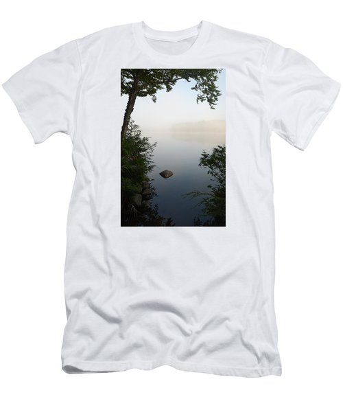 Canning Lake Mist Men's T-Shirt (Athletic Fit)