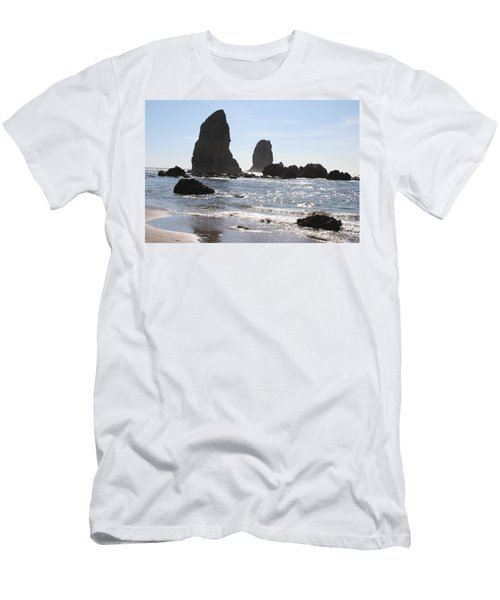 Cannon Beach II Men's T-Shirt (Athletic Fit)