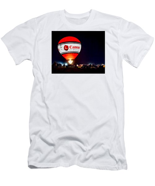 Canon - See Impossible - Hot Air Balloon Men's T-Shirt (Athletic Fit)