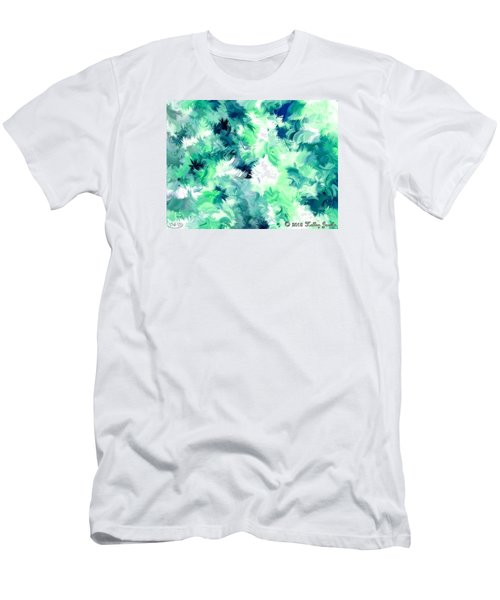 Men's T-Shirt (Slim Fit) featuring the painting Can't Stop Smiling by Holley Jacobs