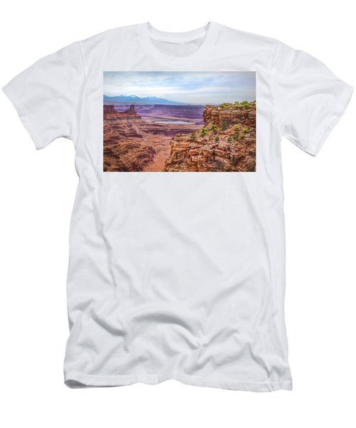 Canyon Landscape Men's T-Shirt (Athletic Fit)