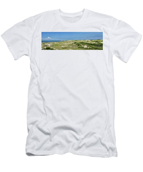 Men's T-Shirt (Slim Fit) featuring the photograph Cape Henlopen State Park - The Point - Delaware by Brendan Reals