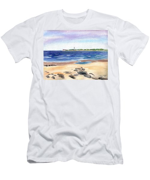 Cape May Beach Men's T-Shirt (Athletic Fit)