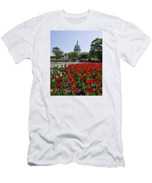 Capitol Tulips  Men's T-Shirt (Athletic Fit)