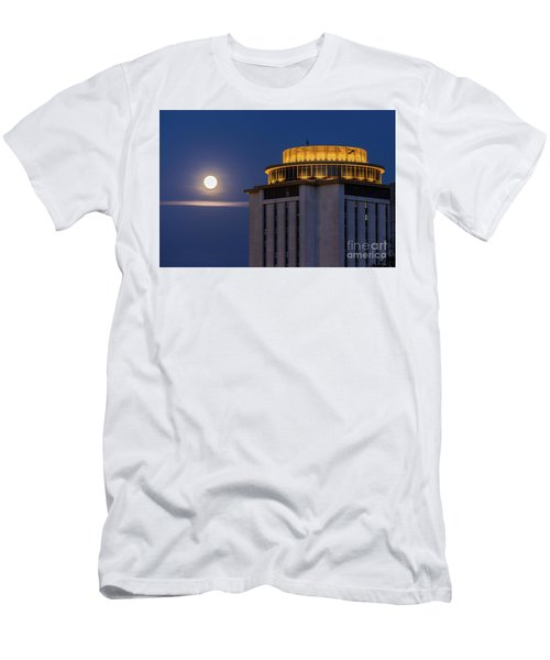 Capstone House And Full Moon Men's T-Shirt (Athletic Fit)