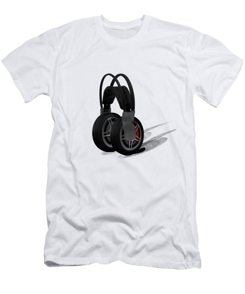 Car Stereo Men's T-Shirt (Athletic Fit)