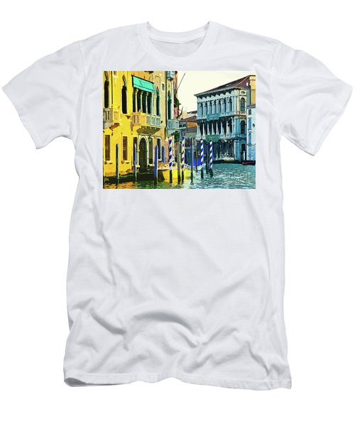 Men's T-Shirt (Slim Fit) featuring the photograph Ca'rezzonico Museum by Tom Cameron