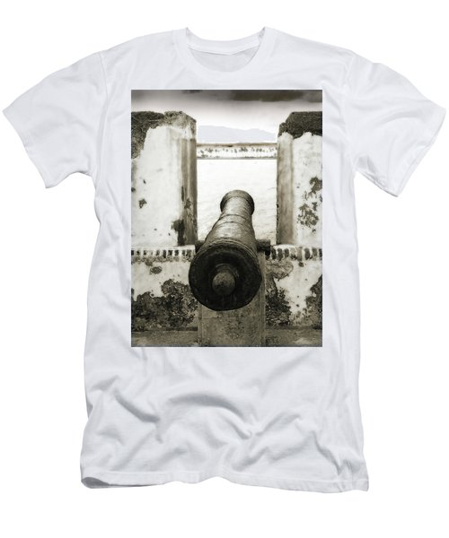 Caribbean Cannon Men's T-Shirt (Athletic Fit)