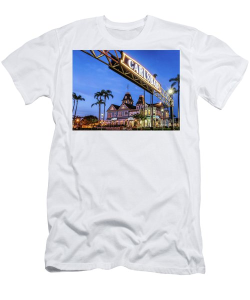 Carlsbad Welcome Sign Men's T-Shirt (Athletic Fit)