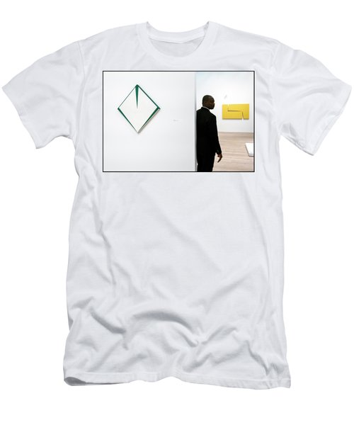 Carmen Herrera At The Whitney 1 Men's T-Shirt (Athletic Fit)