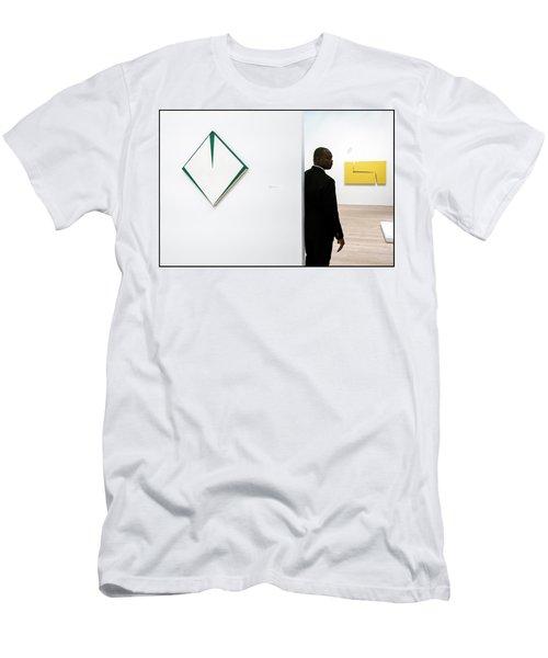 Carmen Herrera At The Whitney 1 Men's T-Shirt (Athletic Fit)