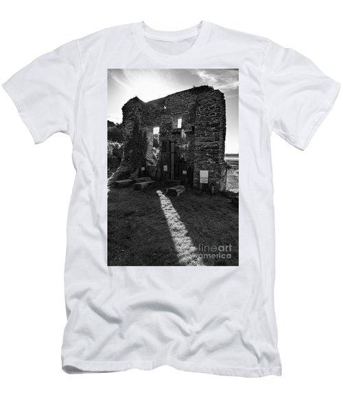 Photographs Of Cornwall Carnon Mine Men's T-Shirt (Slim Fit)