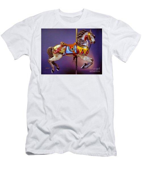 Carousel Dream Horse Men's T-Shirt (Athletic Fit)