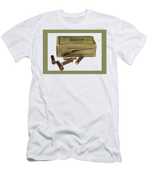 Cartridges For Rifle Men's T-Shirt (Athletic Fit)