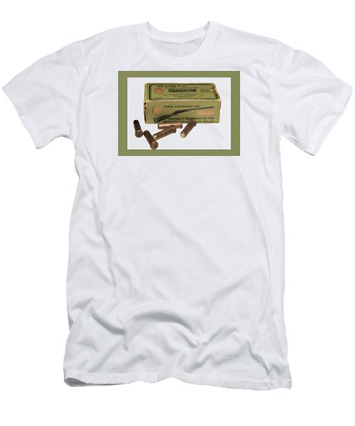 Cartridges For Rifle Men's T-Shirt (Athletic Fit)