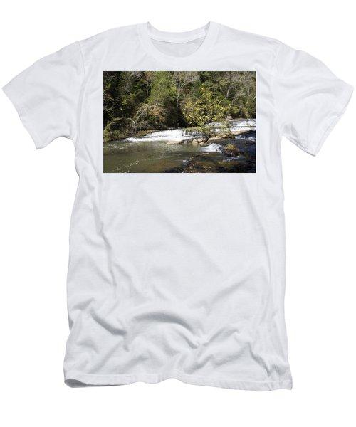Cascade Falls Men's T-Shirt (Slim Fit) by Ricky Dean