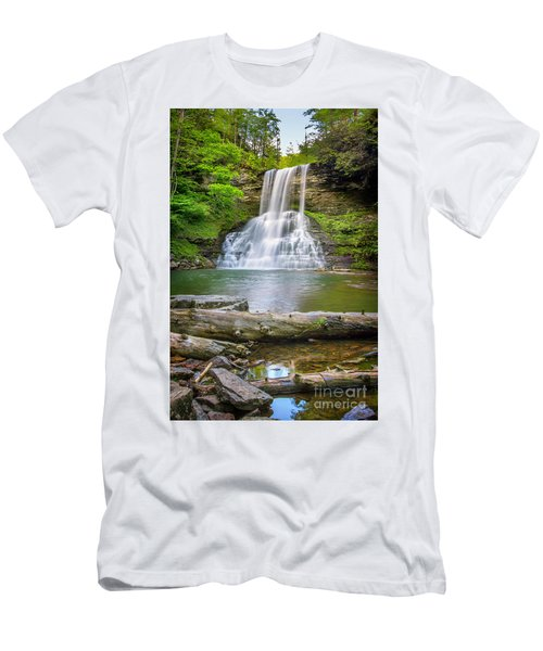 Cascades Falls Giles County Men's T-Shirt (Athletic Fit)