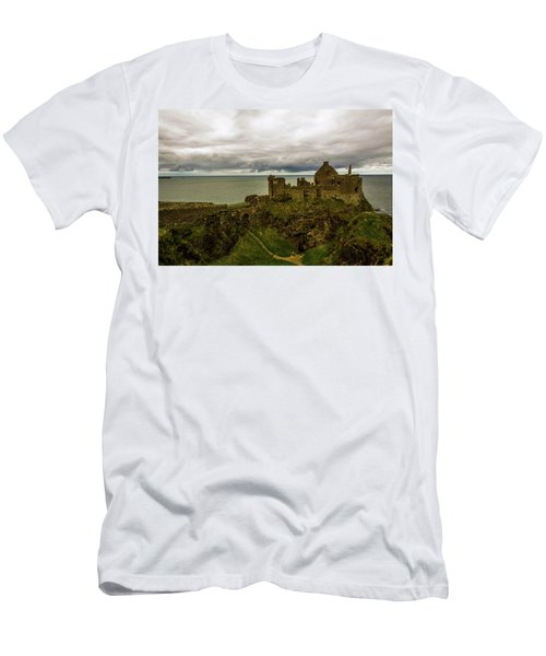 Castle By The Sea Men's T-Shirt (Athletic Fit)